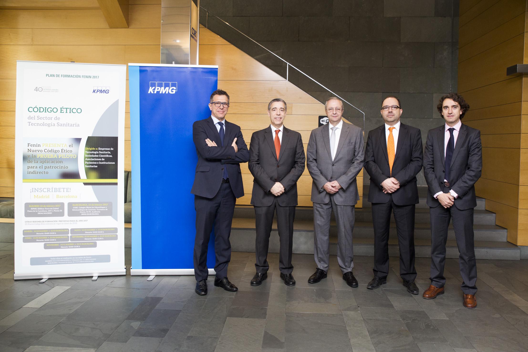 Acuerdo entre Fenin y KPMG para garantizar la integridad de las ayudas a la formación en el Sector de Tecnología Sanitaria